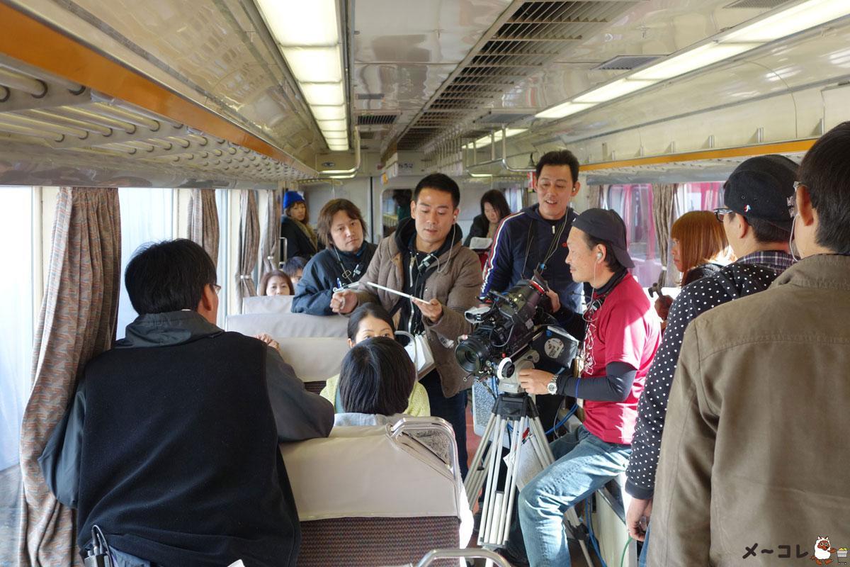 名鉄DVD撮影風景